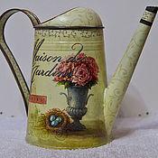 Цветы и флористика ручной работы. Ярмарка Мастеров - ручная работа леечки для цветов еще. Handmade.