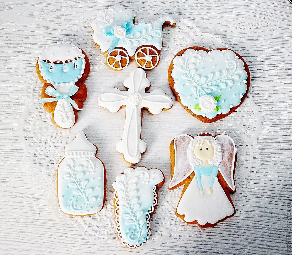 Cakes for christenings, Gingerbread, Moscow, Фото №1
