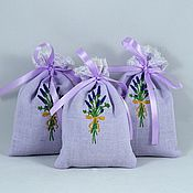 Свадебный салон handmade. Livemaster - original item Aromatherapy lavender sachet, a gift to the wedding guests. Handmade.
