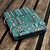 "Канцелярские товары handmade. Livemaster - original item Notepad A5 ""Turquoise"". Handmade."
