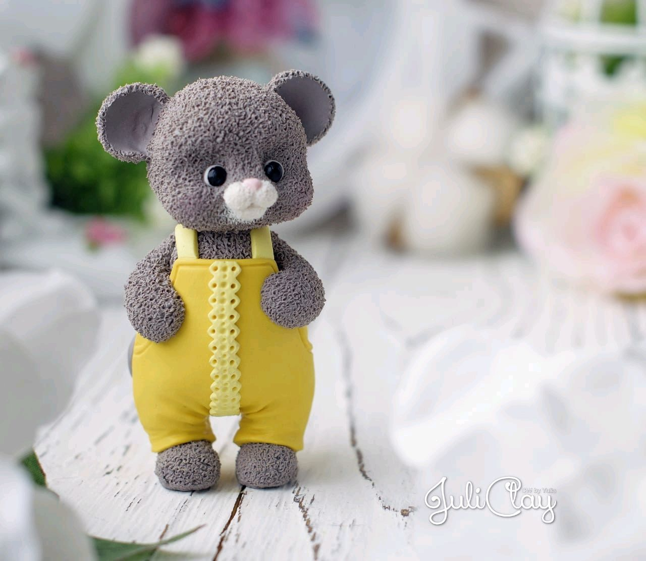 3D silicone shape ' mouse in overalls'. Copyright, Form, Vladivostok,  Фото №1