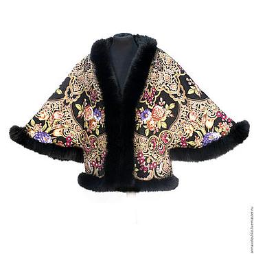 Одежда ручной работы. Ярмарка Мастеров - ручная работа Зимняя куртка с мехом. Handmade.