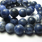 handmade. Livemaster - original item Sodalite beads, globe, 8mm. Sodalite natural. Handmade.