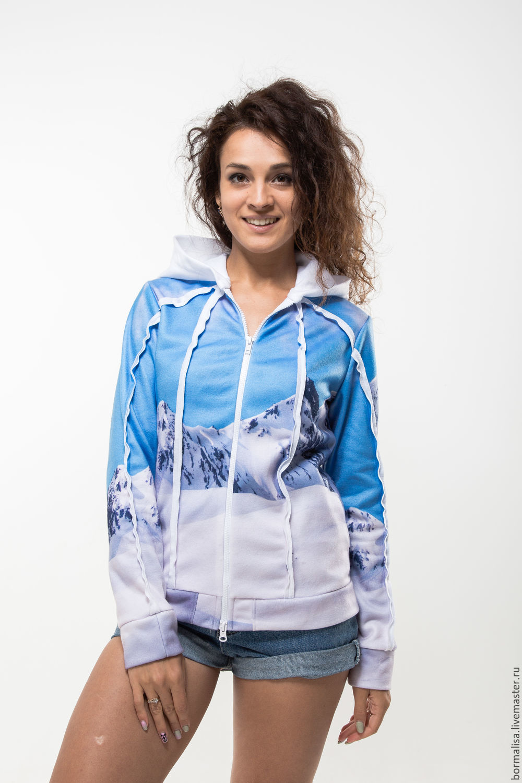 "Sweatshirt ""Snowy"", Sweater Jackets, Ivanovo,  Фото №1"