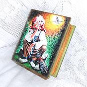 Для дома и интерьера handmade. Livemaster - original item Box the book tales of the Witch. Handmade.