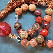 Фен-шуй и эзотерика handmade. Livemaster - original item A rosary amulet of Jasper