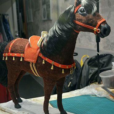 Куклы и игрушки ручной работы. Ярмарка Мастеров - ручная работа Лошадка , лошадь. Handmade.