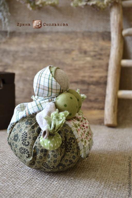 Народные куклы ручной работы. Ярмарка Мастеров - ручная работа. Купить народная кукла КУБЫШКА-ТРАВНИЦА. Handmade. Разноцветный