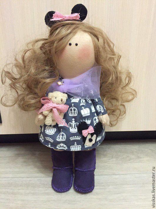 Куклы Тильды ручной работы. Ярмарка Мастеров - ручная работа. Купить Кукла ручной работы (по мотивам куклы Татьяны Коннэ). Handmade.
