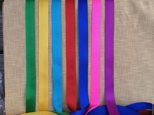 Шитье ручной работы. Ярмарка Мастеров - ручная работа. Купить лента ременная (стропа) 25 мм цветная. Handmade.