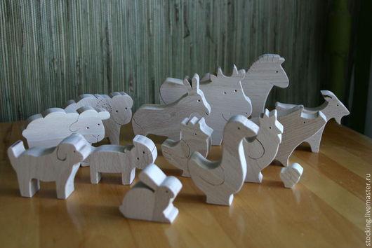 Развивающие игрушки ручной работы. Ярмарка Мастеров - ручная работа. Купить Развивающая игрушка Домашние животные.. Handmade. Развивающая игрушка