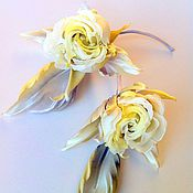 """Украшения ручной работы. Ярмарка Мастеров - ручная работа Роза """"Дотти"""". Handmade."""