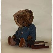 Куклы и игрушки ручной работы. Ярмарка Мастеров - ручная работа Снежок нападал..... Handmade.