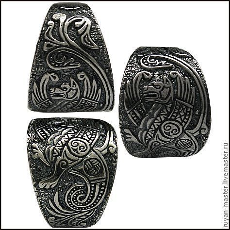 """Кольца ручной работы. Ярмарка Мастеров - ручная работа. Купить Кольцо """"Симаргл"""". Handmade. Серебряный, перстень, авторская работа"""