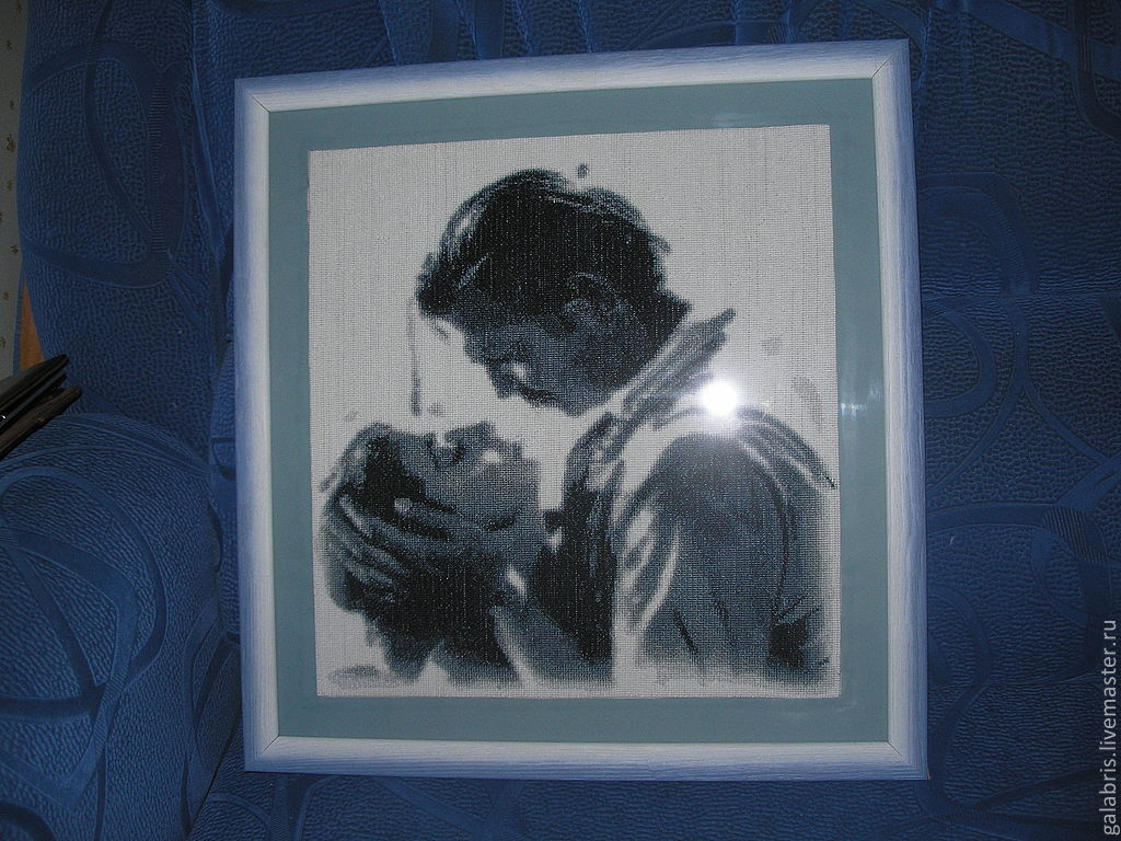"""""""Унесенные ветром"""" вышитая картина крестиком (авторская схема), Картины, Черкассы,  Фото №1"""