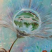 """Картины и панно ручной работы. Ярмарка Мастеров - ручная работа Картина"""" Очередь в душ...."""". Handmade."""