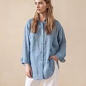 Одежда handmade. Livemaster - original item Women`s loose-fitting shirt Season. Handmade.