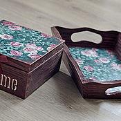 Для дома и интерьера ручной работы. Ярмарка Мастеров - ручная работа Великолепие роз(продано). Handmade.