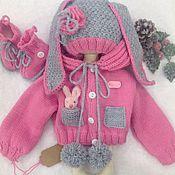 """Куклы и игрушки ручной работы. Ярмарка Мастеров - ручная работа """"Милый заяц"""" одежда для кукол. Handmade."""