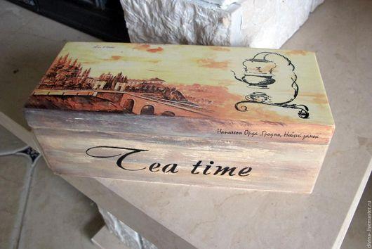 Шкатулки ручной работы. Ярмарка Мастеров - ручная работа. Купить чайная шкатулка. Handmade. Шкатулка для чая, коробочка, чайная коробка