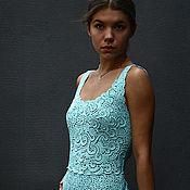 """Одежда ручной работы. Ярмарка Мастеров - ручная работа платье """"Лазурь"""". Handmade."""