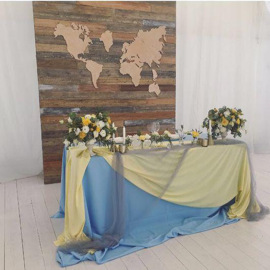 Интерьерные слова ручной работы. Ярмарка Мастеров - ручная работа. Купить Карта мира из дерева. Handmade. Карта мира