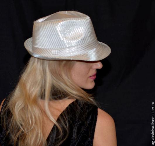 Шляпы ручной работы. Ярмарка Мастеров - ручная работа. Купить Шляпа унисекс белая. Handmade. Белый, головные уборы женские