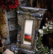 """Для дома и интерьера ручной работы. Ярмарка Мастеров - ручная работа Пиратское зеркало """"Трофей"""". Handmade."""