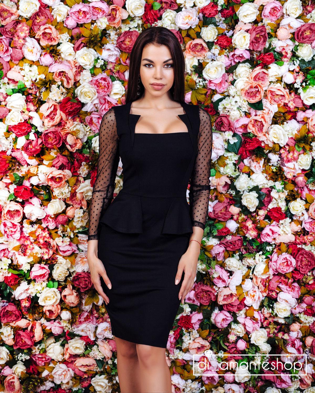d020cba1560 Платья ручной работы. Ярмарка Мастеров - ручная работа. Купить Черное платье  с вырезом.