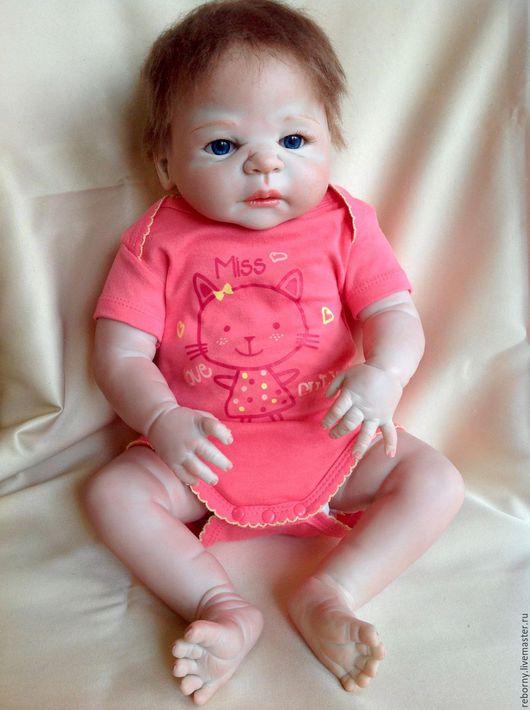 Куклы-младенцы и reborn ручной работы. Ярмарка Мастеров - ручная работа. Купить Кукла Реборн (Reborn) Девочка. Handmade. Розовый