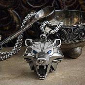 Украшения handmade. Livemaster - original item Pendant Bear. The Medallion Of The Witcher. The Witcher silver silver. Handmade.