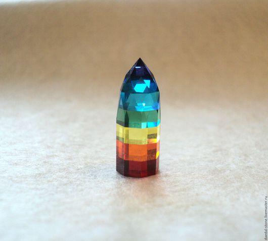 Кулоны, подвески ручной работы. Ярмарка Мастеров - ручная работа. Купить Кристальная радуга. Handmade. Разноцветный, радуга, радужный камень