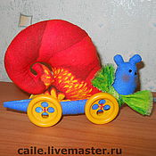 Куклы и игрушки ручной работы. Ярмарка Мастеров - ручная работа Улитка Сью. Тильда. Handmade.
