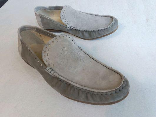 """Обувь ручной работы. Ярмарка Мастеров - ручная работа. Купить Мокасины """"Снежинка"""". Handmade. Мокасины из кожи, натуральная кожа"""
