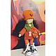 Коллекционные куклы ручной работы. Интерьерная Кукла Мандаринка. Полина Плутахина (Pelageya-Shop). Интернет-магазин Ярмарка Мастеров. Интерьер