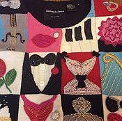 """Одежда ручной работы. Ярмарка Мастеров - ручная работа Винтажный жакет """" про Любовь"""". Handmade."""