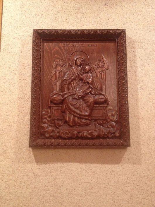 Иконы ручной работы. Ярмарка Мастеров - ручная работа. Купить Икона Божией Матери «Всецарица». Handmade. Икона, икона из дерева