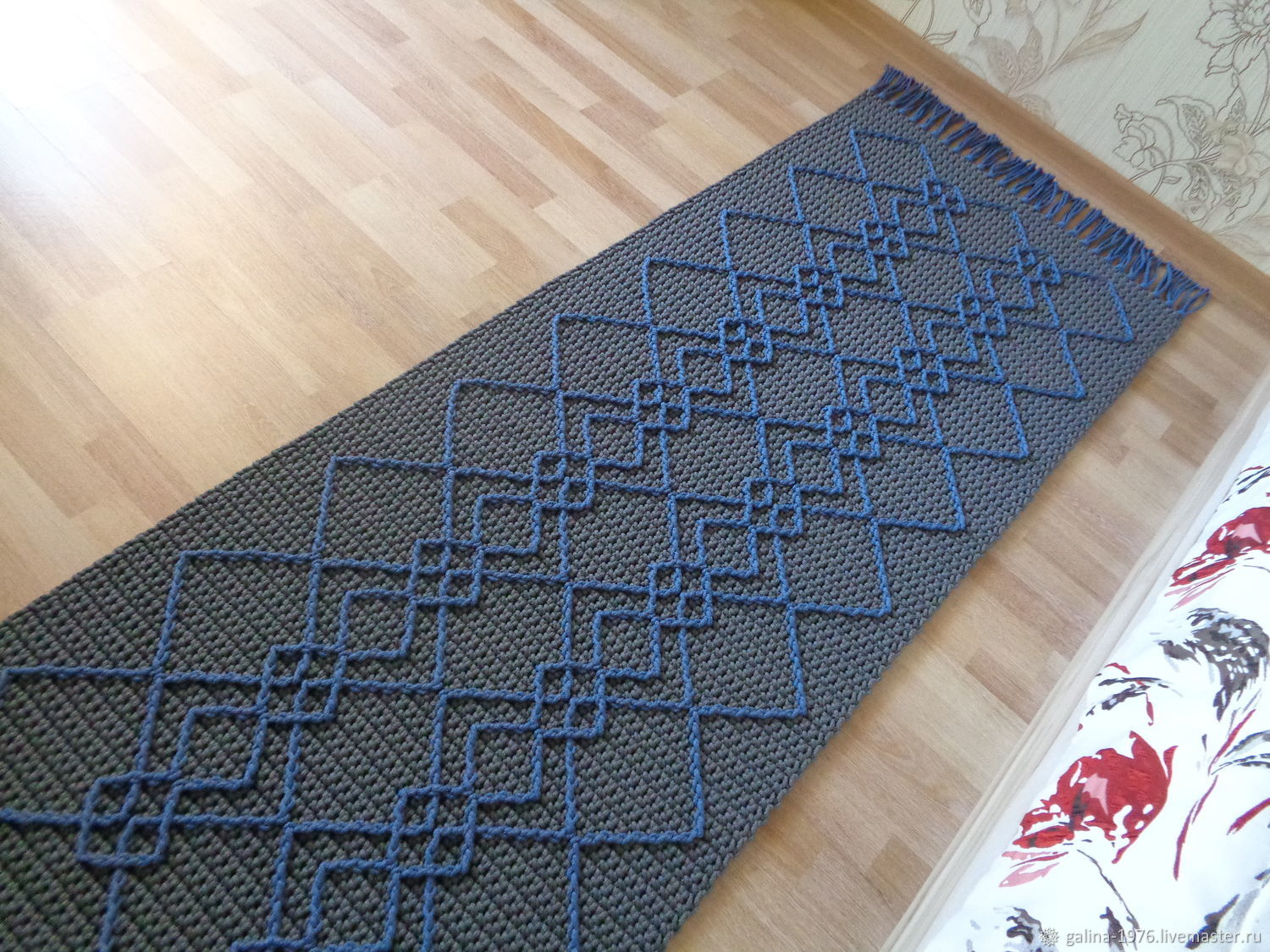 Knitted carpet ' Knowledge '(based on), Carpets, Voronezh,  Фото №1