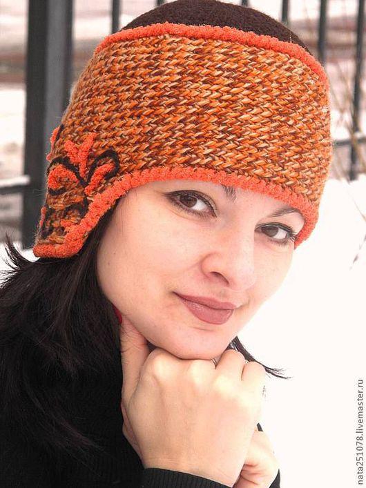 """Шапки ручной работы. Ярмарка Мастеров - ручная работа. Купить шапка зимняя """"Боярыня"""". Handmade. Орнамент, шапка, шапка зимняя"""
