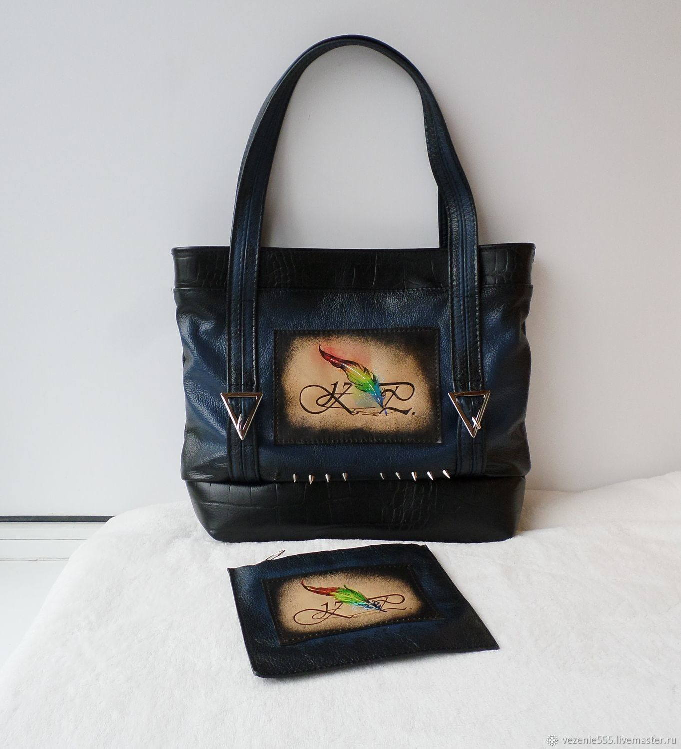 Special order for a very talented young poet @konstantinprima, Classic Bag, Noginsk,  Фото №1