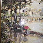 """Картины и панно ручной работы. Ярмарка Мастеров - ручная работа Картина """"Париж.После дождя"""". Handmade."""