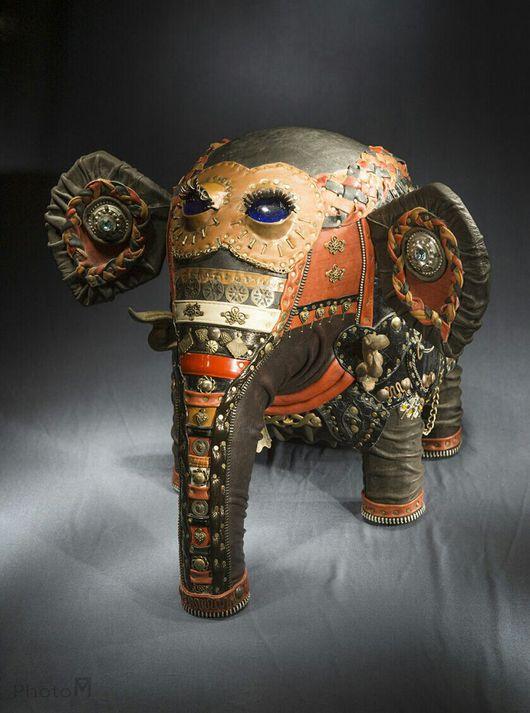 Статуэтки ручной работы. Ярмарка Мастеров - ручная работа. Купить Слон покровитель. Handmade. Слоник ручной работы, дерево
