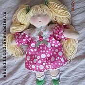Куклы и игрушки ручной работы. Ярмарка Мастеров - ручная работа Куколка вальфдоровская, Розовый Сон,36 см. Handmade.