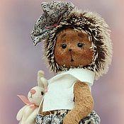 Куклы и игрушки ручной работы. Ярмарка Мастеров - ручная работа Ёжик Леночка. Handmade.