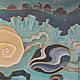 Фантазийные сюжеты ручной работы. Заказать Картина Сны Антареса выполненная на шелке в технике батика. Мария. Ярмарка Мастеров. Яхты