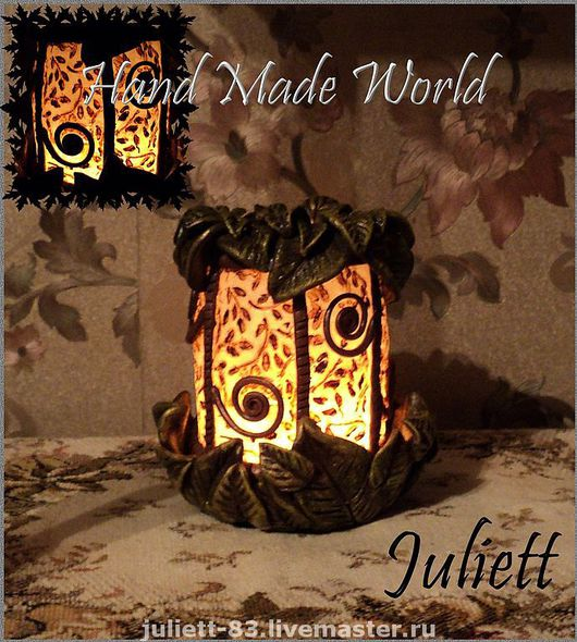 Candleholders handmade. Livemaster - handmade. Buy candlestick 'eternal summer'.Candle holder, the decor of the interior, home