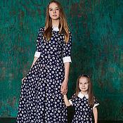 Одежда ручной работы. Ярмарка Мастеров - ручная работа Платье для девочки Летняя ромашка. Handmade.