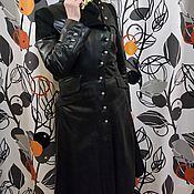 Одежда ручной работы. Ярмарка Мастеров - ручная работа Плащ кожаный классик. Handmade.