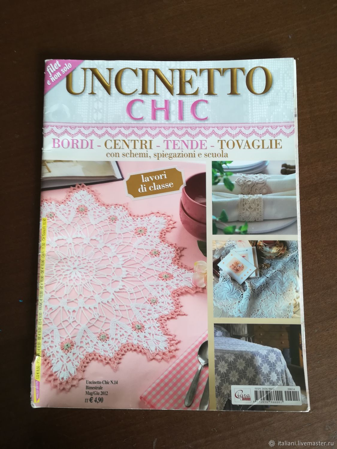 The knitting magazines Italy – shop online on Livemaster with ...