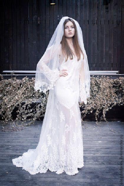 """Платья ручной работы. Ярмарка Мастеров - ручная работа. Купить свадебное платье """"Пена"""". Handmade. Свадебное платье, авторская работа"""